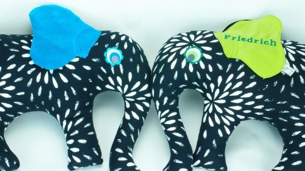 Elefantenkissen / Nackenkissen / Geburtskissen
