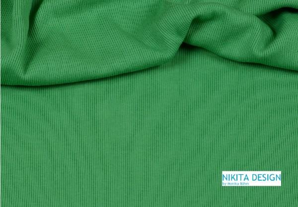 Bündchen uni grün (120)