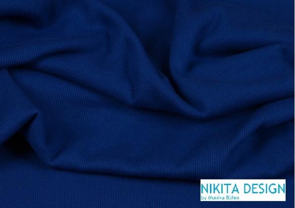 Bündchen uni mittellblau (109)